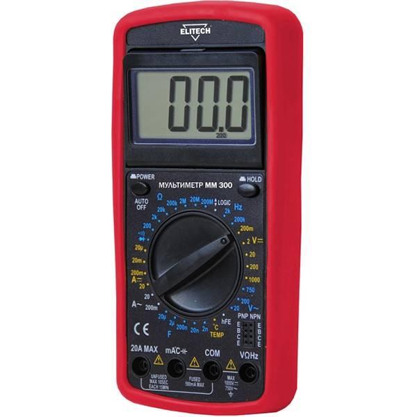 Мультиметр elitech мм 500.